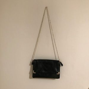 Faux Leather Clutch for night out